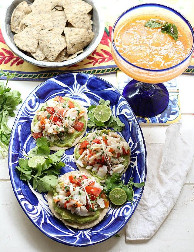 Cod fish ceviche healthy avocado recipes popsugar for Fish ceviche recipe