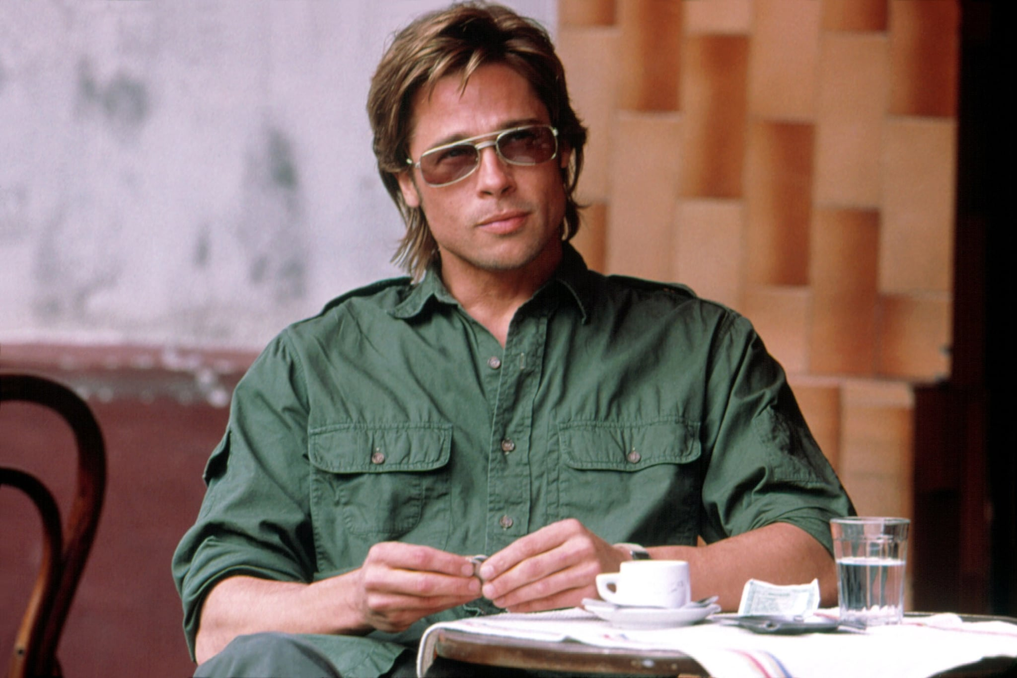 Spy Game 2001 Brad Pitt Has Aged Like A Fine Wine On The Big Screen Popsugar Entertainment Photo 22