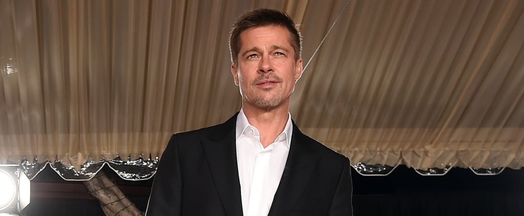Brad Pitt Makes His First Red Carpet Appearance Since Splitting From Angelina Jolie