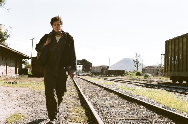 Sam Riley in On the Road.   Photo courtesy of MK2 Productions
