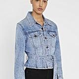 Alice + Olivia Teresa Cinch-Waist Jacket
