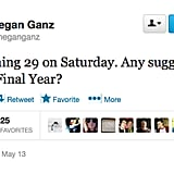 @meganganz is counting down to her big 3-0.