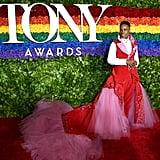 Billy Porter Wears Kinky Boots Curtain at Tony Awards 2019
