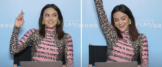 Camila Mendes Takes POPSUGAR's Riverdale Trivia Quiz Video