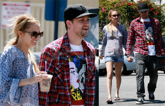 Photos of Pregnant Nicole Richie and Joel Madden in LA 2009-03-30 10:30:32