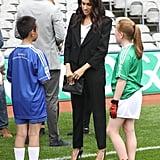 Meghan Markle's Black Pantsuit Ireland 2018