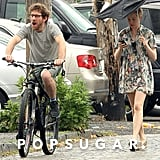 Michelle Williams and her new boyfriend, Dustin Yellin, spent a day in Brooklyn.