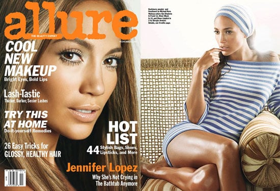 Jennifer Brings the Lopez Effect to Allure