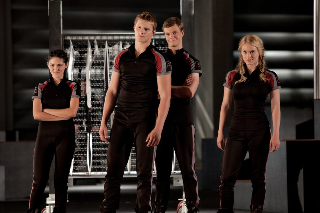 Jack Quaid as Marvel in The Hunger Games (2012)