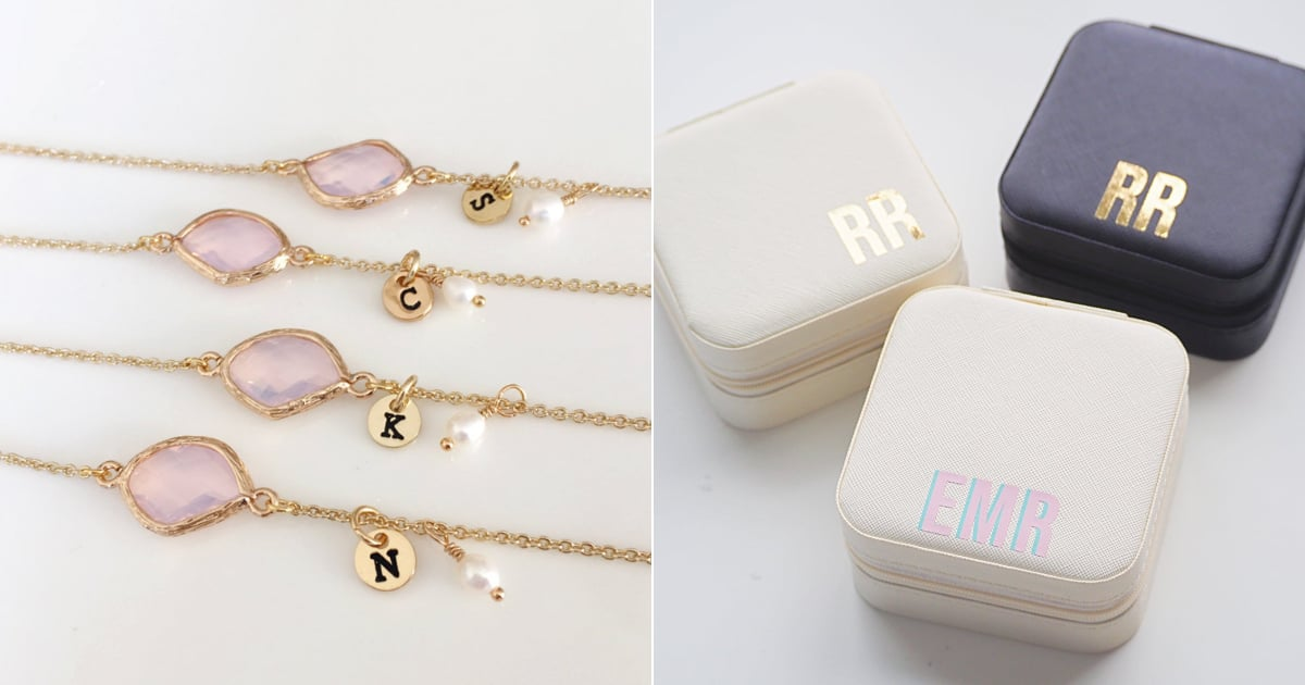 13 Monogrammed and Personalized Gifts Your Bridesmaids Will Love