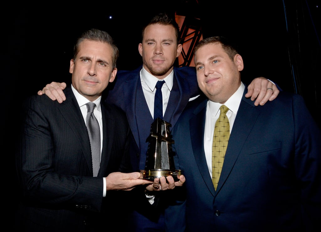 Steve Carell, Channing Tatum and Jonah Hill