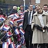 جميع المرات التي تبدو فيها الملكة ماكسيما مبتهجة للغاية لمشا