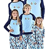 SleepytimePjs Holiday Matching Fleece Penguin Pajamas