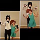 Edward and Joyce From Edward Scissorhands