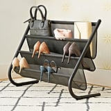 Umbra Charcoal Slant Shoe & Accessory Organiser