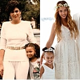 Beyoncé shared two mother-daughter photos in honor of Mother's Day.