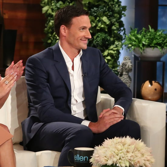 Ryan Lochte on The Ellen DeGeneres Show September 2016