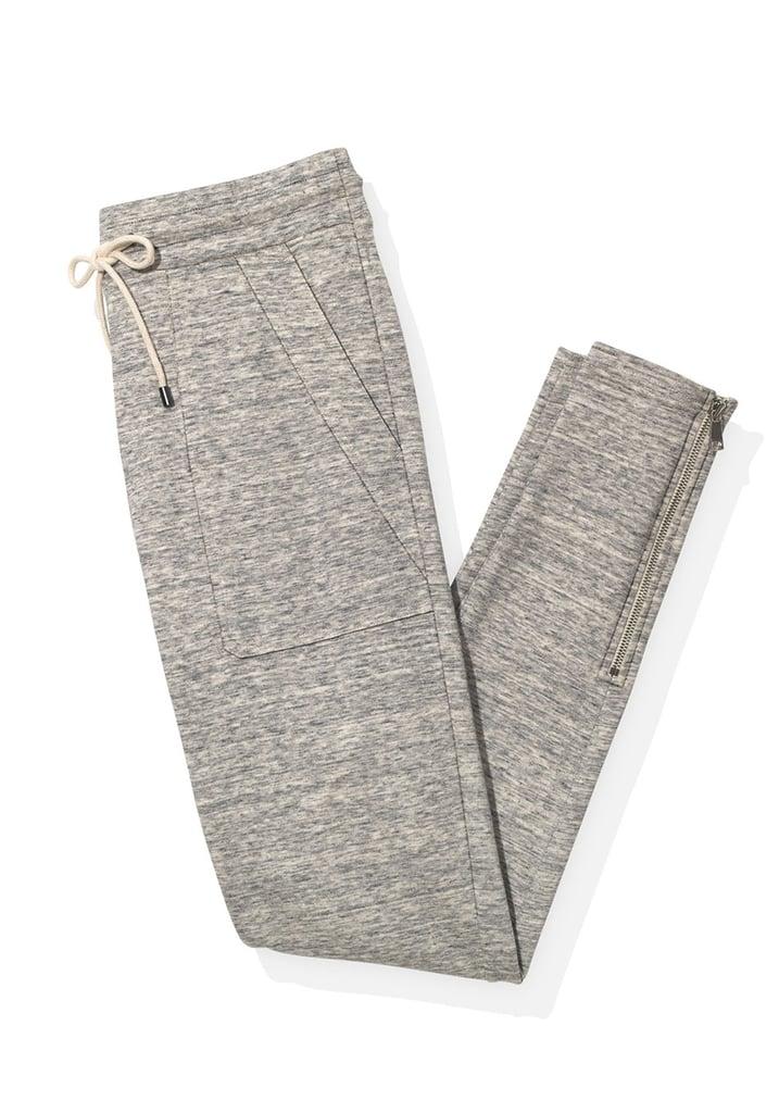 Melange Drawstring Sweatpants