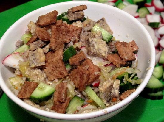 Asian Sesame Buckwheat Salad