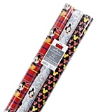 Disney Mickey Mouse Wrapping Paper With Cut Lines