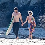 They Went For a Romantic Stroll on the Beach