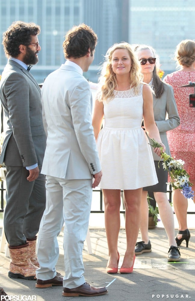 Amy Poehler and Paul Rudd shared a scene.