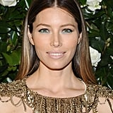At this year's Museum of Modern Art 2013 Film Benefit, Jessica Biel went for a simple yet bold eye makeup look. Makeup artist Kara Yoshimoto Bua used Chanel Long Lasting Eyeliner in Jade ($30) to make her eyes pop. Hairstylist Harry Josh complemented the look with a sleek, middle-parted style. He blow-dried her hair with John Frieda Frizz-Ease UV Thermal Protection Serum ($10) and then went back and straightened her hair using his new Pro Tools Ceramic Styling Iron ($250).