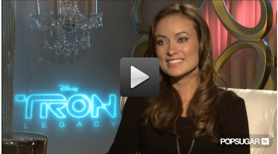 Olivia Wilde Interview For Tron Legacy 2010-12-15 09:30:00