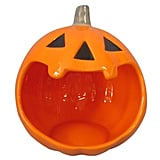 Hyde and Eek! Boutique Halloween Ceramic Pumpkin Candy Bowl