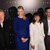 Ridley Scott, Charlize Theron, Noomi Rapace, and Michael Fassbender got together at the Prometheus premiere in Paris.
