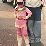 Jacqueline Toboni as a Pink Power Ranger