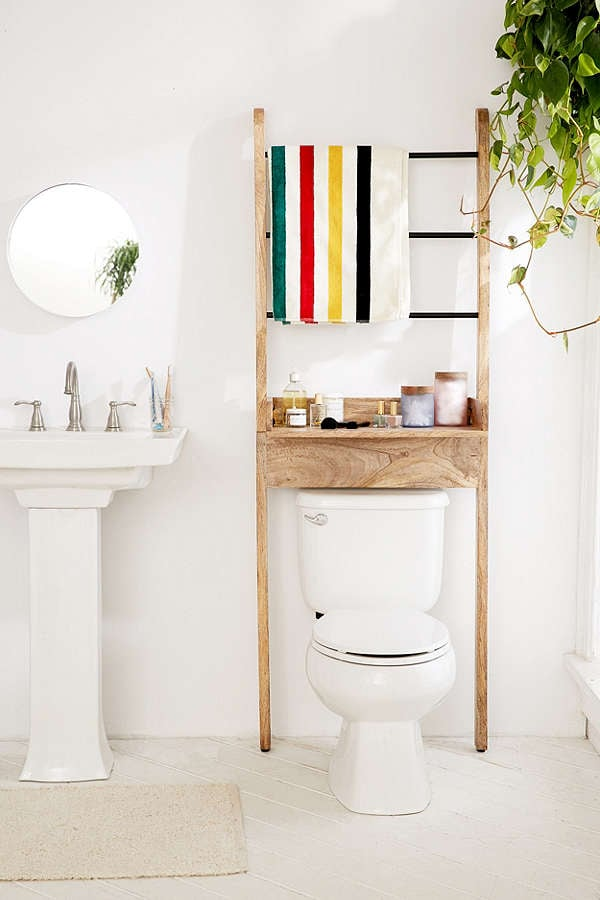 Bronte Bathroom Leaning Ladder Storage Home Storage