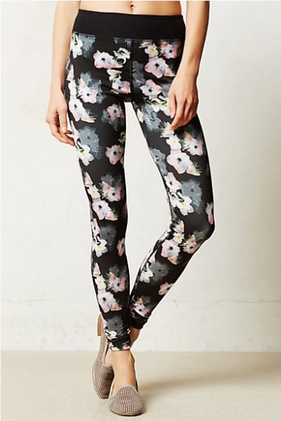Pure + Good Shadow Floral Leggings