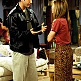 Ross knows the importance of a sleek leather jacket.