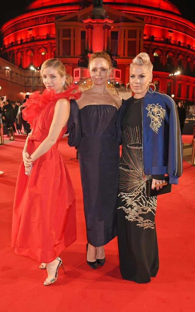 Annabelle Wallis, Stella McCartney, and Pink