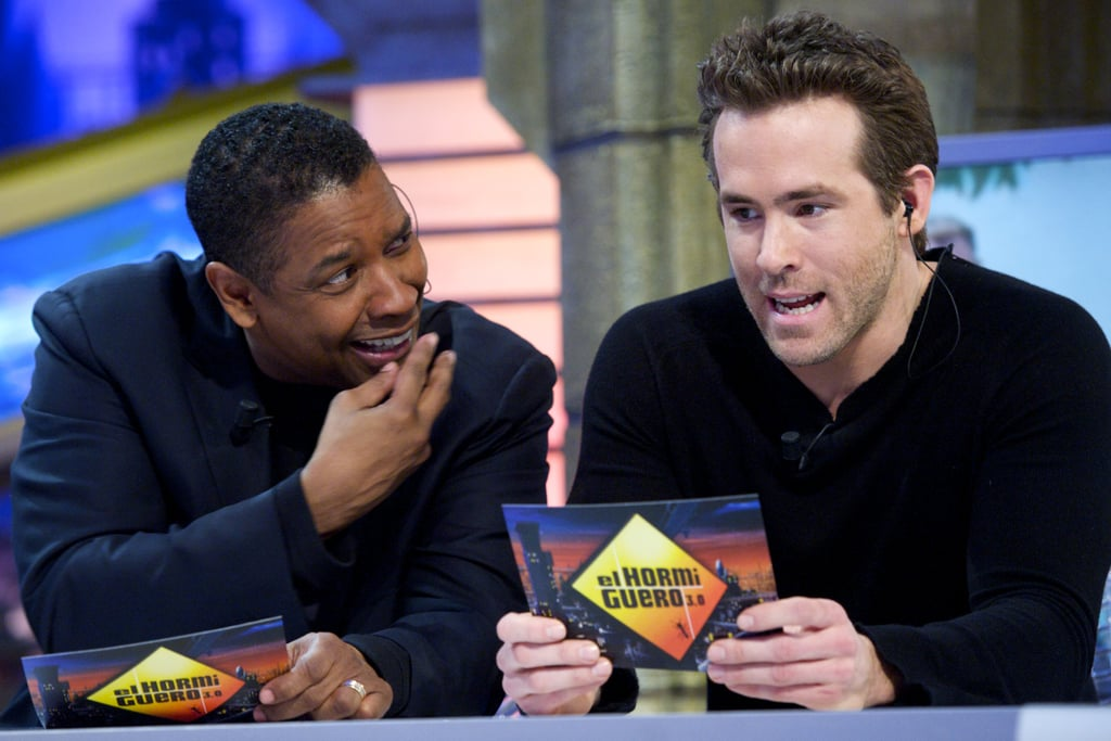Ryan Reynolds gave one question some serious thought.