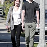Jennifer Lawrence and Nicholas Hoult had an LA lunch date.
