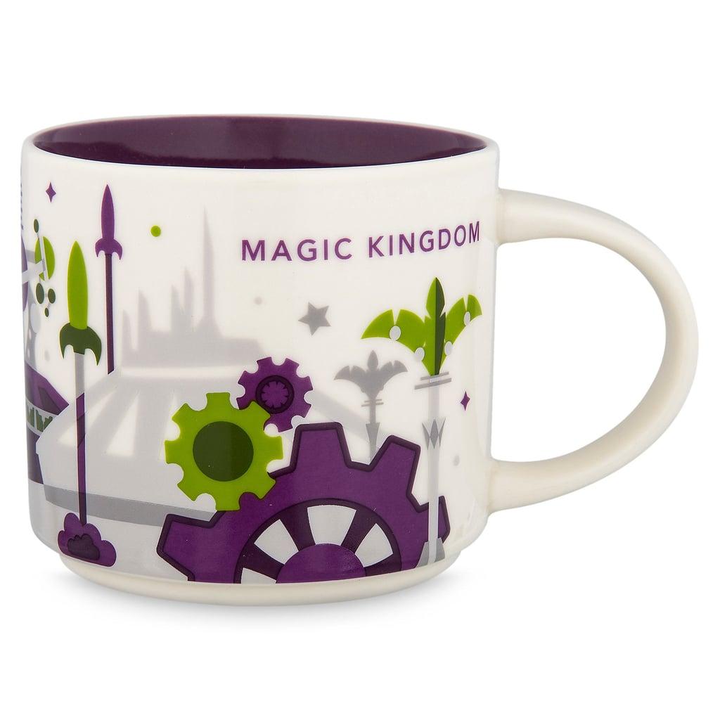Magic Kingdom Starbucks You Are Here Mug 17 Can You Buy