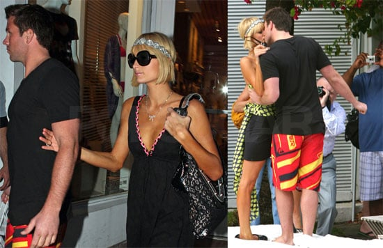 Photos of Paris Hilton and Doug Reinhardt Kissing in Miami, Doug Saying He Wants Mini-Parises One Day