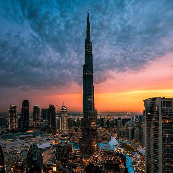 مشاهدة شروق الشمس من قمة برج خليفة 2019