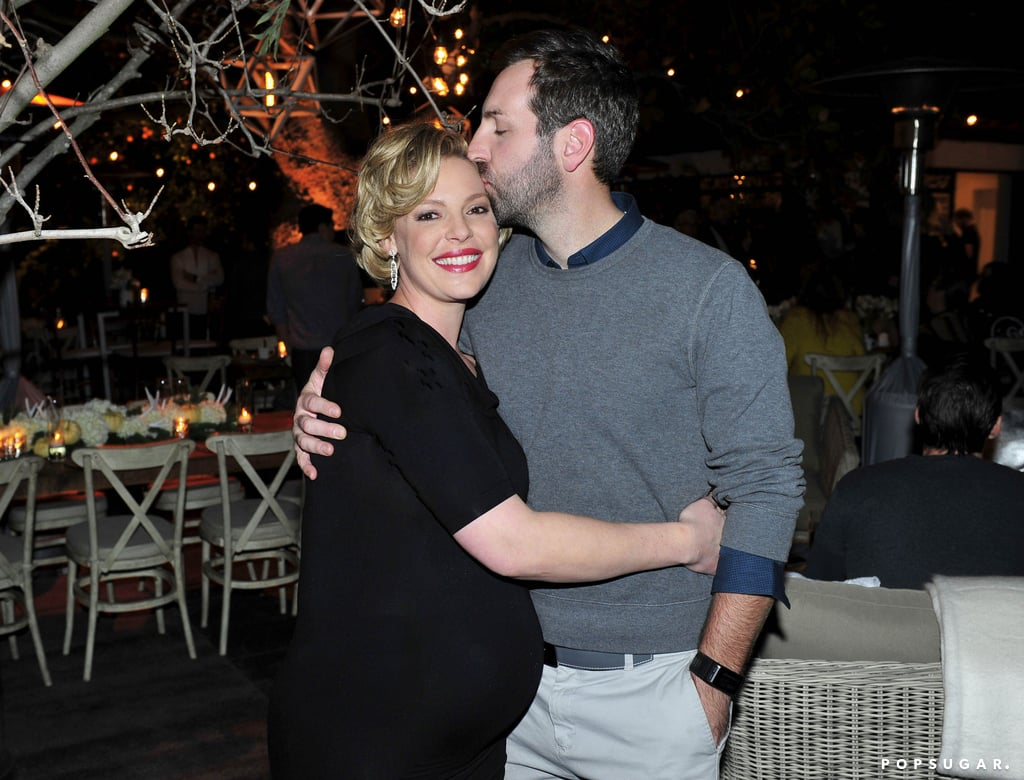 "Ever since Katherine Heigl and husband Josh Kelley announced that they're expanding their adorable family with a third child, a boy, the couple has had a variety of supercute appearances out together. Over the weekend, they kept up their habit of looking giggly at a star-studded baby shower that Katherine's mom hosted for her in LA. In addition to family and friends turning out to wish her well, the actress also had the support of her Doubt costars, Laverne Cox and Dulé Hill, who posed for photos with her at the fun event. The party was decorated with trees and twinkly white lights, which Katherine revealed were inspired by her and Josh's ""mountain home in Utah, where the baby will be born"" on her blog. So cute!      Related:                                                                                                           Katherine Heigl Admires Her Growing Baby Bump in a Sweet Snap"