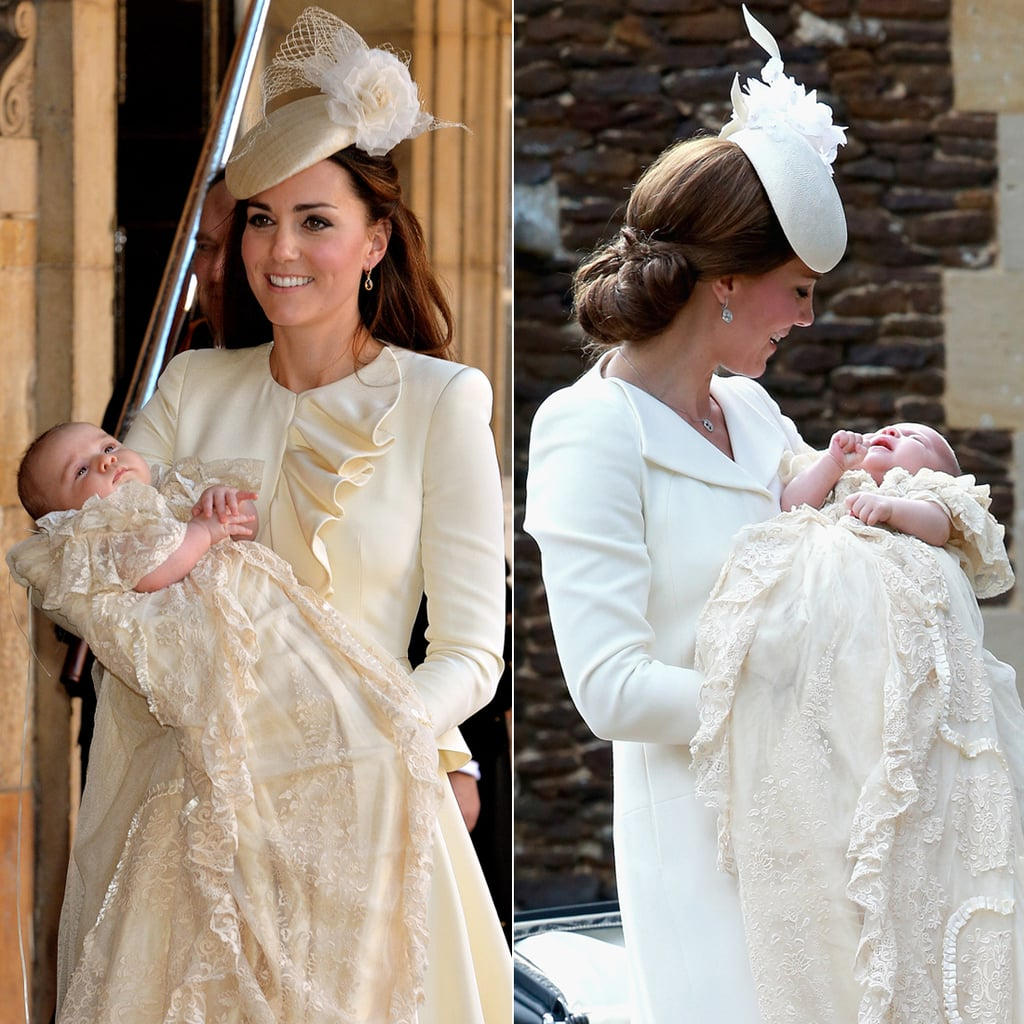 Prince George's Vs. Princess Charlotte's Christening