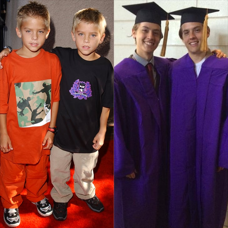 Dylan And Cole Sprouse Twins From Big Daddy Graduate