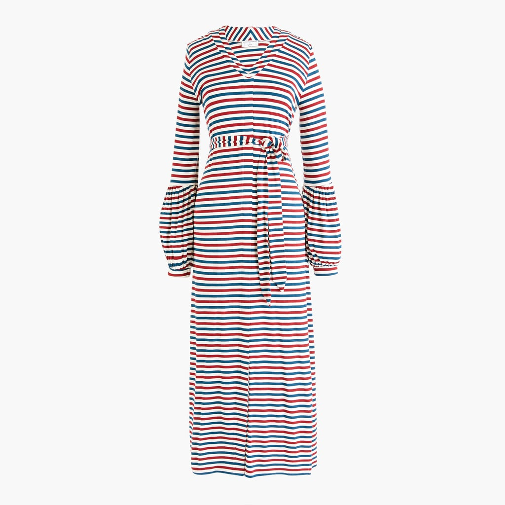 Universal Standard x J.Crew Jersey Long-sleeve Maxi Dress
