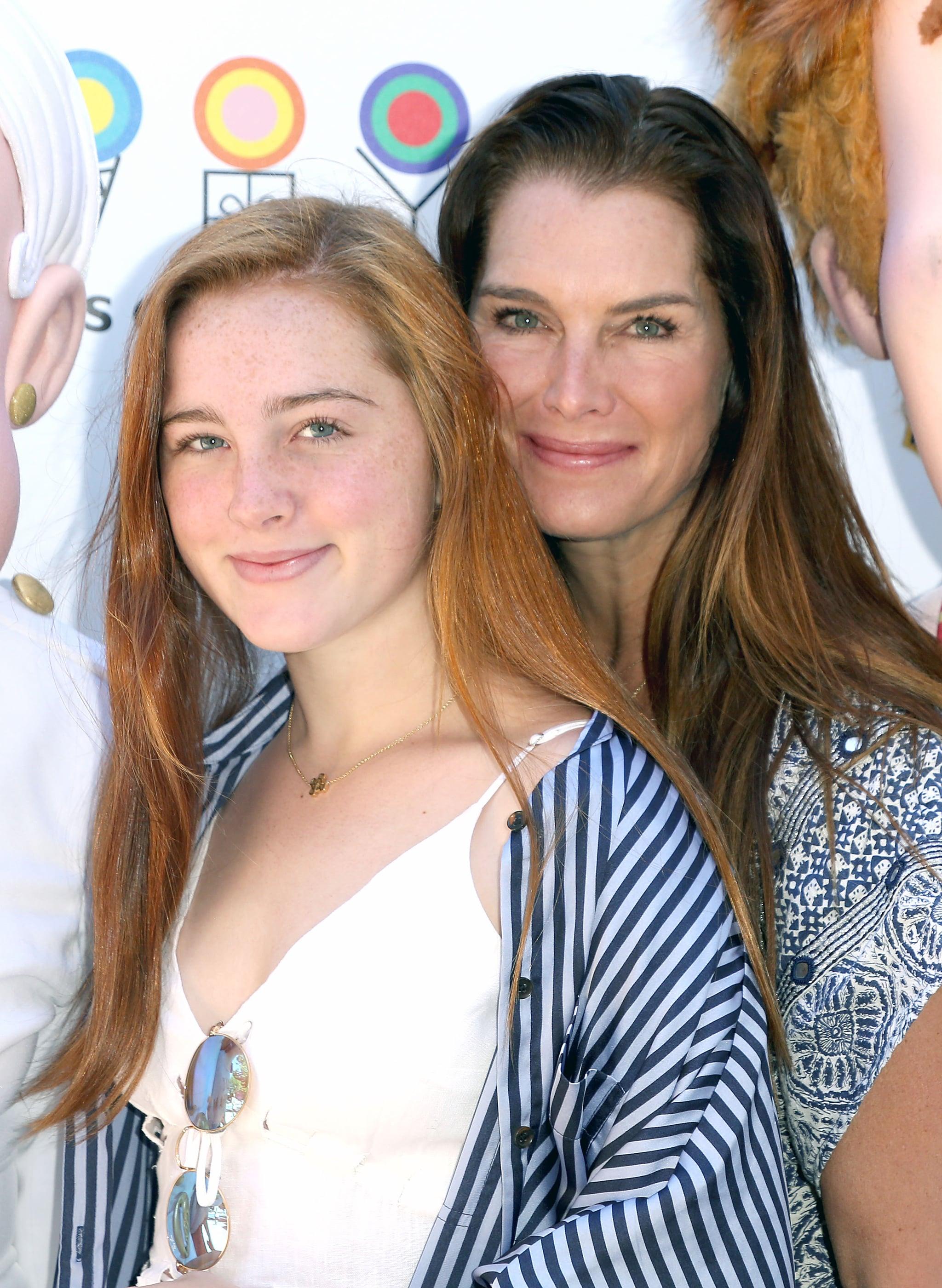 EAST HAMPTON, NY - JULY 08:  Rowan Henchy and Brooke Shields attend the