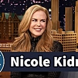 Nicole Kidman and Jimmy Fallon