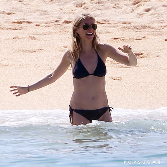 Gwyneth Paltrow in a Bikini in Mexico April 2017
