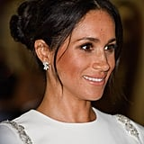 Meghan Markle's Face Framing Curls and Bronzer