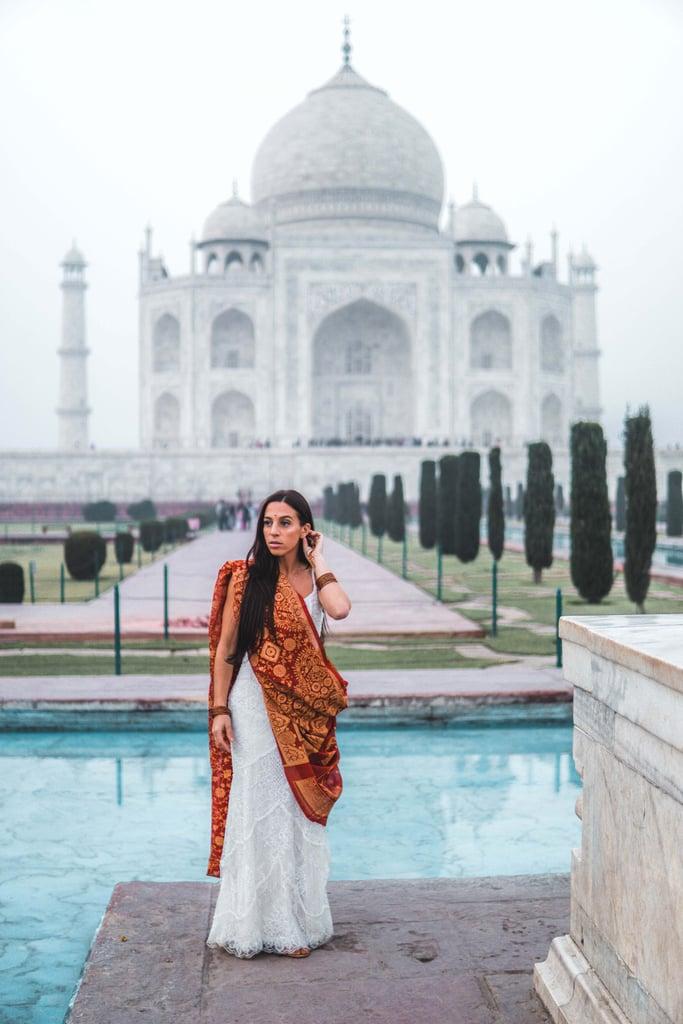 Bride Wears Wedding Dress in 33 Countries on Honeymoon