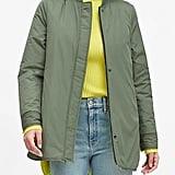 Water-Resistant Reversible Jacket